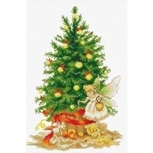 Luca S Luca S borduurpakket Christmas Tree B1117