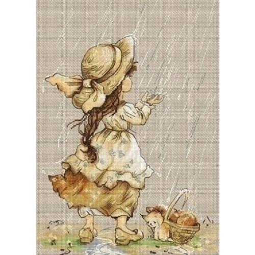 Luca S Luca S borduurpakket Summer Rain B1077