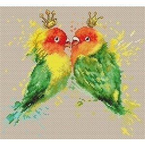 Luca S Luca S borduurpakket The Parrots b2309