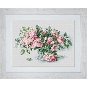 Luca S Luca S borduurpakket Pink Roses BL22866