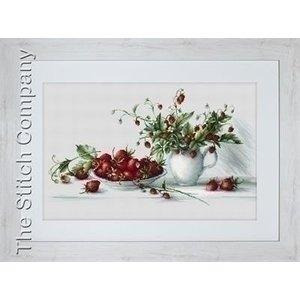 Luca S Luca S borduurpakket Strawberries B2277