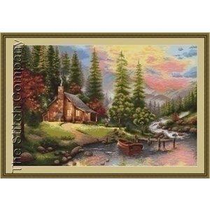 Luca S Luca S borduurpakket Mountain Landscape B451