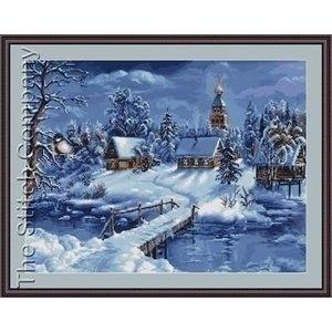 Luca S Luca S borduurpakket Winter Landscape G447