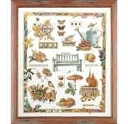 Marjolein Bastin borduurpakket Tuincollage 0007961