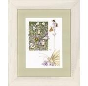 Borduurpakket Lavendelveld met vlinder 0146979