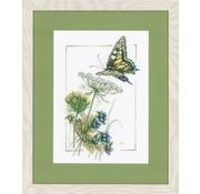Marjolein Bastin Vlinder met blauwe bessen 0021622