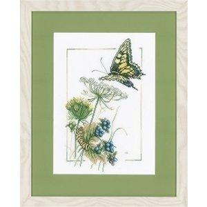 Marjolein Bastin Marjolein Bastin Vlinder met blauwe bessen 0021622