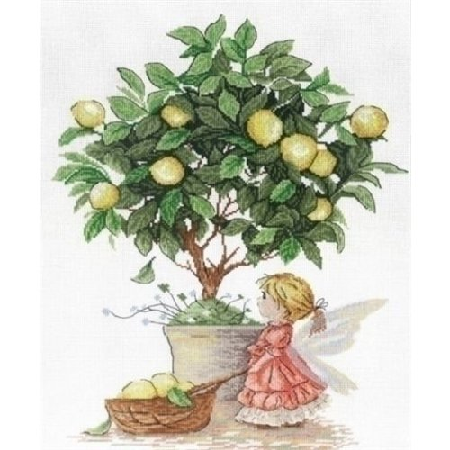 MPStudia MPStudia borduurpakket Lemon Fairy SNV-547