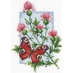 Panna Panna Butterfly with Flower 0117-b