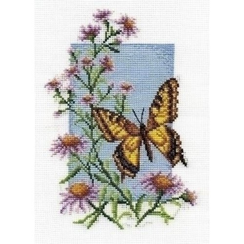 Panna Panna Butterfly with Flower 0116-b
