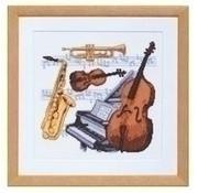 Pako borduurpakket Muziekinstrumenten 238.588