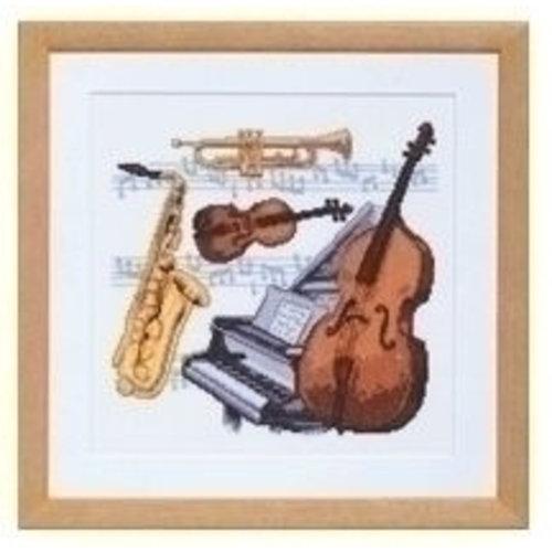 Pako Pako borduurpakket Muziekinstrumenten 238.588