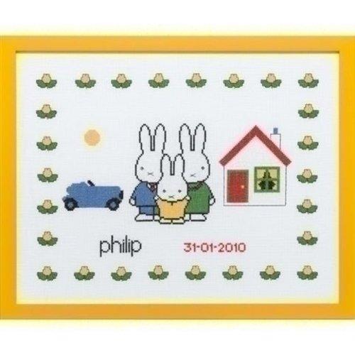 Pako Nijntje geboortetegel Philip 230 279