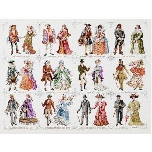 Pako Borduurpakket geschiedenis van de mode 219 258