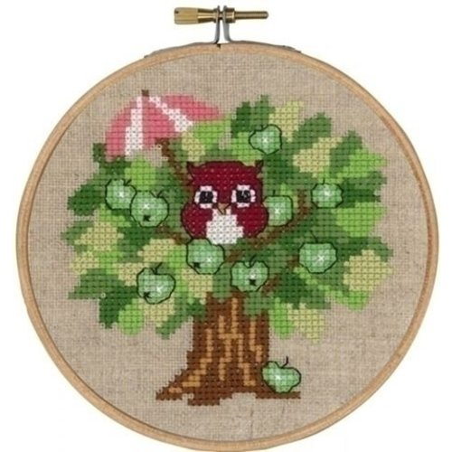 Permin Permin borduurpakket Summer owl 13-6306