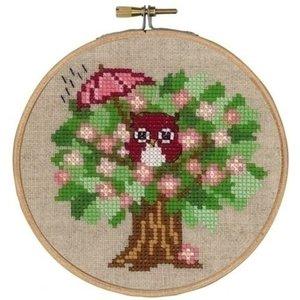 Permin Permin borduurpakket Spring owl 13-6305