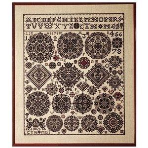 Permin Borduurpakket Sampler Vierlande 1826 39-441