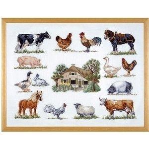 Permin Permin borduurpakket boerderijdieren 70-6420