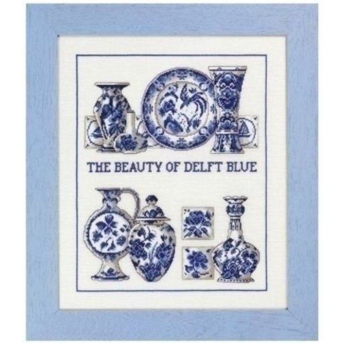 Permin Permin borduurpakket Delfts blauw 70-3441