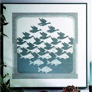 Permin Permin borduurpakket Vogels en Vissen 90-3400