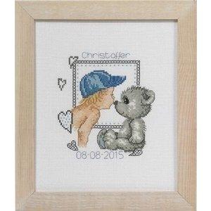 Permin Permin geboortetegel Teddy Christoffer 92-5147