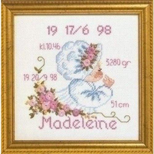 Permin Permin geboortetegel Madeleine 12 9703