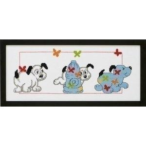 Permin Permin borduurpakket Honden 92 3389