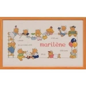 Permin Borduurpakket Bobbi Happy Friends Marilene 92 2150