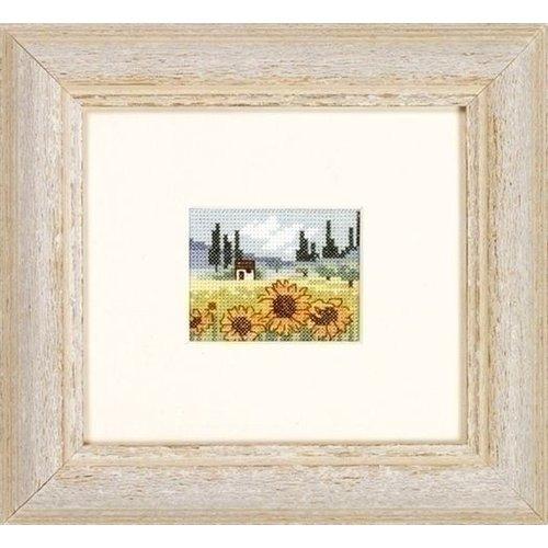 Permin Permin borduurpakket veld met zonnebloemen 13 2353