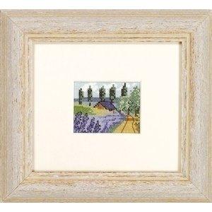 Permin Permin borduurpakket veld met lavendel 13 2354