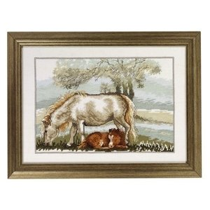 Permin Permin borduurpakket Paarden lente 12 3335
