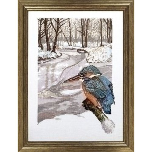 Permin Permin borduurpakket IJsvogel 90-6113