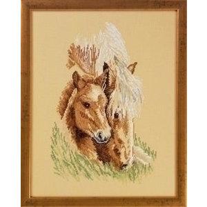 Permin Permin borduurpakket 2 Paarden 90-6161
