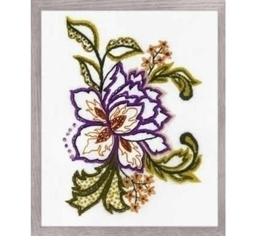 Riolis Borduurpakket Flower Sketch 1687