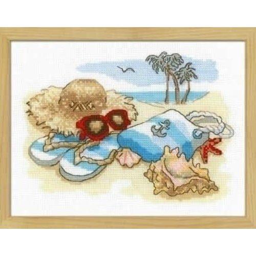 Riolis Riolis Borduurpakket Holiday by the Sea 1719