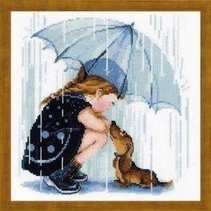 Riolis Riolis borduurpakket Under My Umbrella 1720