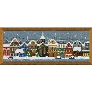 Riolis Riolis Borduurpakket Christmas City ri-1683
