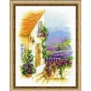 Riolis Riolis borduurpakket Provence Street ri-1689