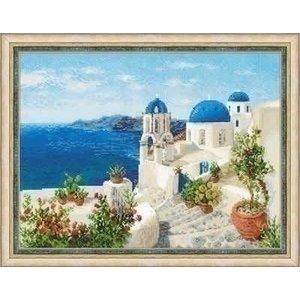 Riolis Riolis borduurpakket Santorini ri-1644