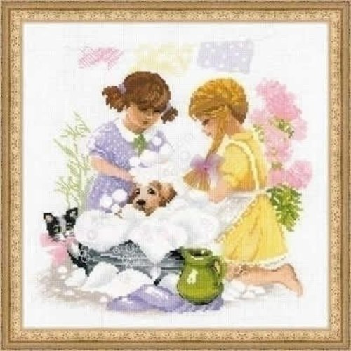 Riolis Riolis borduurpakket Housewifes ri-1646