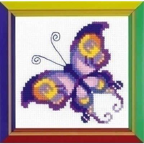 Riolis Riolis borduurpakket Amethyst Butterfly hb171