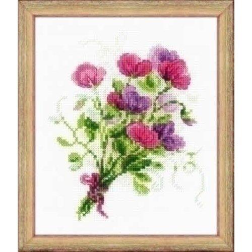 Riolis Riolis Bouquet with Sweet Peas 1606