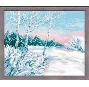 Riolis Riolis borduurpakket Winter Morning 1541