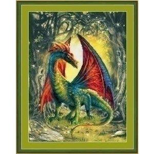 Riolis Riolis borduurpakket Forest Dragon PT0057