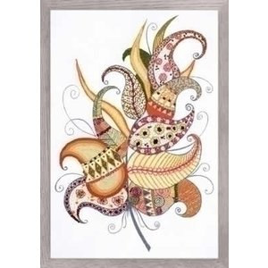 Riolis Riolis borduurpakket Magic Feather 1586
