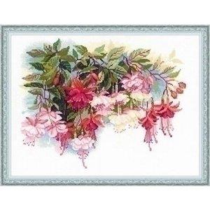 Riolis Riolis borduurpakket Fuchsia 1398