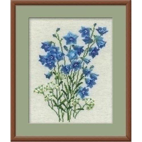 Riolis Riolis borduurpakket Blue Bells 1045
