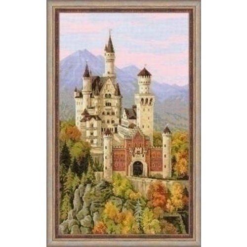 Riolis Riolis borduurpakket Neuschwanstein Castle 1520