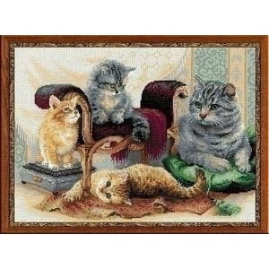 Riolis Riolis Feline Family 1327
