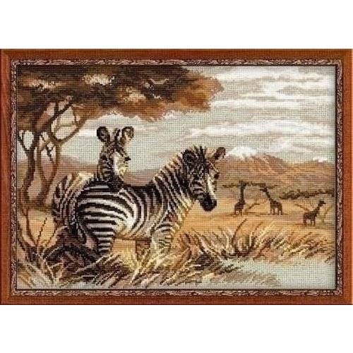 Riolis Riolis Zebras in the Savannah 1143